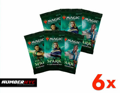 War of the Spark MTG Boosters Magic The Gathering Factory Sealed Cards Packs NEW