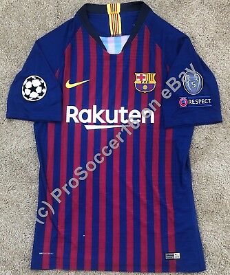 43389e7ec3b 2018 19 FC Barcelona Home Kit -Player version - Champions League - LaLiga