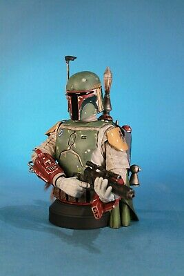 Star Wars Boba Fett SDCC 2013 Exclusive Deluxe Mini Bust Gentle Giant