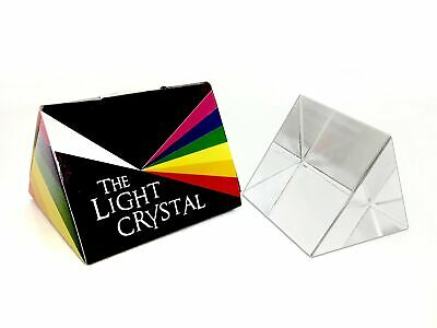 """2.5"""" Equilateral Optical Glass Prism"""