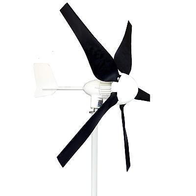 Tumo-Int 400W 5Blades Wind Turbine Generator Kit with Charge Controller (12/24V)