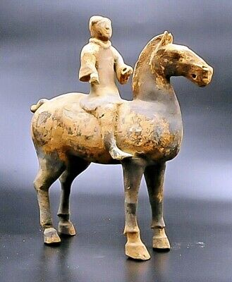 Han Dynasty 220 Bc-206 Ad Horse Polo Player Certificates Of Analysis