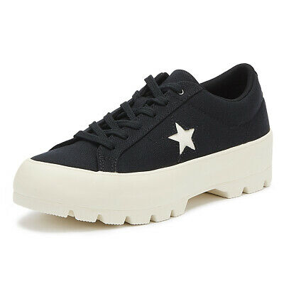Platform Trainers Chunky Shoes Lift Low Converse Star Ox Womens All KlF1c3TJ