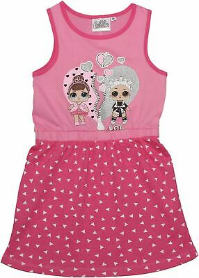 Lol Surprise Girls Hearts Sparkle Glitter Summer Dress