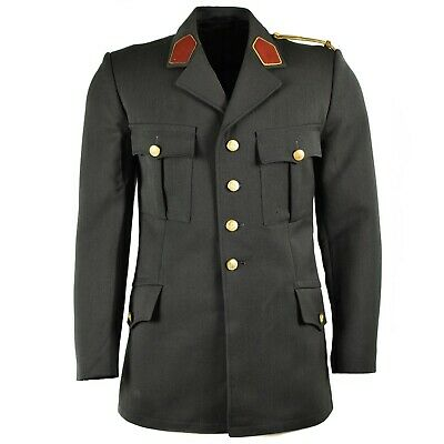 Genuine Austrian army uniform Formal jacket grey military issue