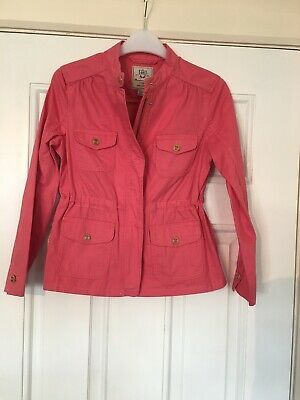 massimo dutti Girls Coral Jacket Age 9/10 Yrs
