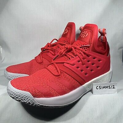 premium selection 1eaa7 1b6f8 Adidas James Harden Vol. 2 Red Gray