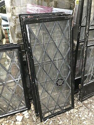 Reclaimed Windows - 1930's Leaded Crittle Windows