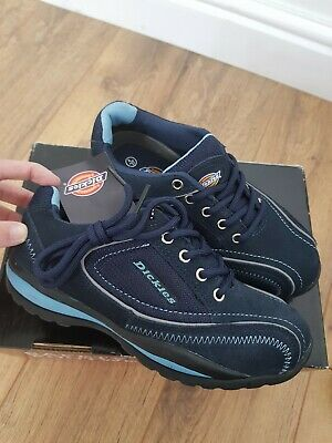 NEW Dickies Ottawa Women's Safety Trainers Size 4 UK 37 Shoes Steel Toe Caps