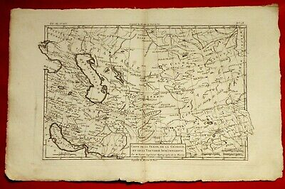 Old Map Year 1780 By Rigobert Bonne - Persia Georgia Tartaria Armenia Syria