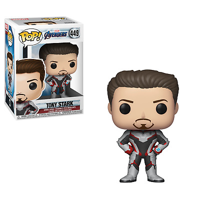 Marvel Avengers #449 - Tony Stark (Iron Man) EndGame - Funko Pop! - Brand New