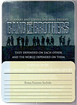 Band Of Brothers Complete HBO Series Commemorative Gift Set 6 Disc DVD Box Set