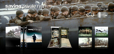 SAVING PRIVATE RYAN - UHD Club #3 Leather Edition 4K/2D Blu-ray Factory Sealed