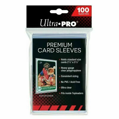 "Ultra Pro 2 1/2"" x 3 1/2"" Premium Penny Sleeves - 6 Packs of 100 - 81385"