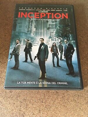 Inception Leonardo Di Caprio Dvd Video
