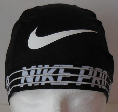 3365f4bf7176a Nike Pro Dri-Fit Skull Cap 2.0 Color Black White Size OSFM