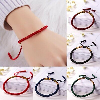 Homemade Multi-color Rope Kniting Bracelet Fashion Jewellery Lucky Gift Friends