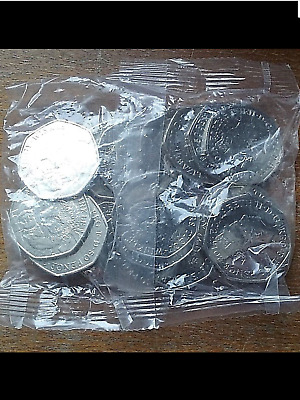 BEATRIX POTTER MISS TIGGY WINKLE SEALED BAG..  50 p COIN ...2016