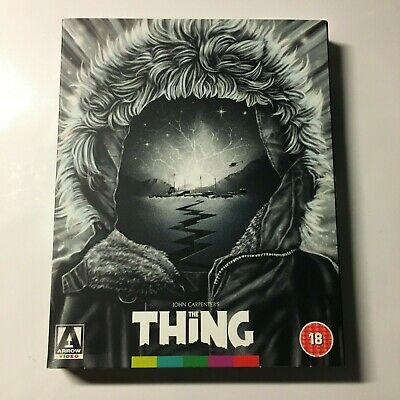 The Thing Arrow Video Blu-ray (WITH Slipcover) Region B *Hard To Find*