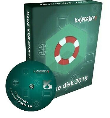 Kaspersky Rescue Disc PE 2019 Bootable CD for Windows Linux Antivirus Scanner