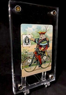 c1891 Russell & Morgan US.Pr.C Bicycle #808 Antique Playing Cards Dial Counter