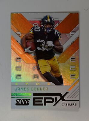 2019 Score Football Epix Game #EG-7 James Conner - Pittsburgh Steelers