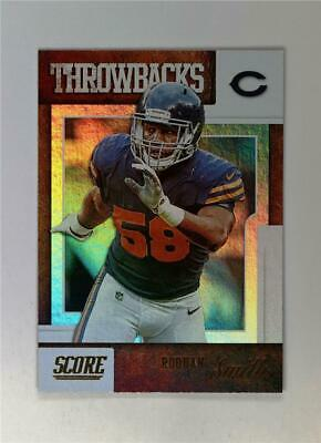2019 Score Football Throwbacks #T-6 Roquan Smith - Chicago Bears
