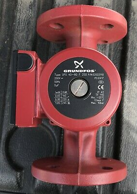 Grundfos UPS 40-80F (250) Circulator 240V pump 52022110 #1472