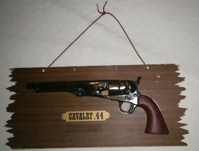 1950s Colt 1860 Cavalry .44 Cal Wallhanger Plaque