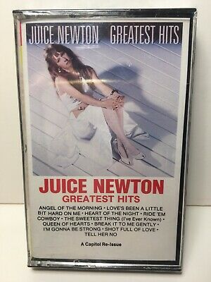 NEW Sealed Juice Newton Greatest Hits Cassette Tape Angel of the Morning XDR