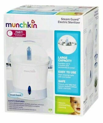 New Electric Steam Sterilizer Baby Bottles Bottle Safe Cleaning, BPA & Germ Free
