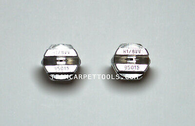 """2 count Carpet Cleaning Replacement Stainless Steel 1//8/"""" V-Jets 9502 Vee Jets"""
