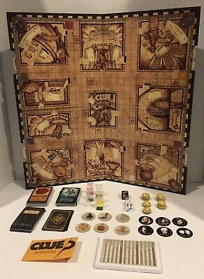 CLUE: Harry Potter Edition Secrets of Hogwarts ~COMPLETE ~Very Good Condition