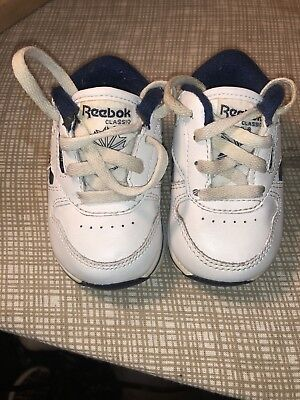 f824119a BABY TODDLER REEBOK size 4 Sneakers Shoes ~ Black Silver ...