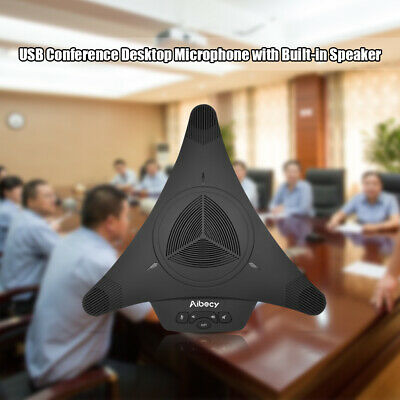 Professional Conference Desktop Omnidirectional Microphone System 360°Audio H2X9