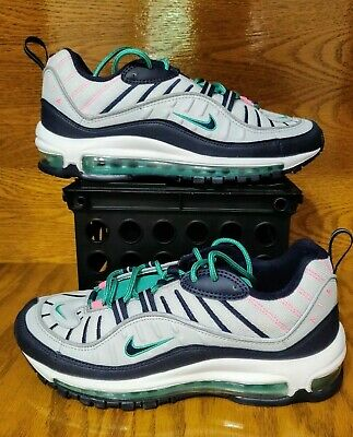 af0d8b79cd Nike Air Max 98 SIZE 8 Miami South Beach Tidal Wave Pure Platinum QS 640744-