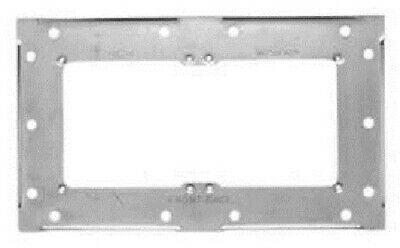Clipsal METAL MOUNTING BRACKET 242x141mm 2-Gangs For Industrial Surrounds