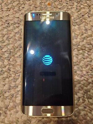 SAMSUNG GALAXY S6 Edge SM-G925A - 32GB - Gold Platinum (AT&T