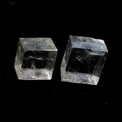 Natural Calcite Clear crystal Ore Mineral Specimens stone Optical research