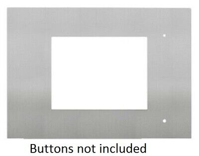 "Clipsal STAINLESS STEEL FASCIA ONLY For C-Bus C-Touch 6.4"" Colour Touch Screens"