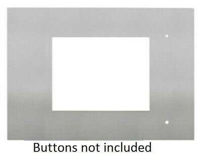 Clipsal STAINLESS STEEL FACIA 136x195mm For C-Bus Black & White Touch Screen Mk2