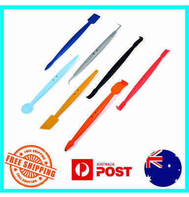 7 Pcs Pro Vinyl Car Wrap Stick Tuck Tools Magnet Micro Squeegee Gasket Kit