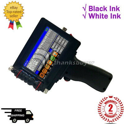 Handheld Inkjet Printer 1681B 4.3'' Touch Screen 600DPI+70ml Imported Ink Cartri