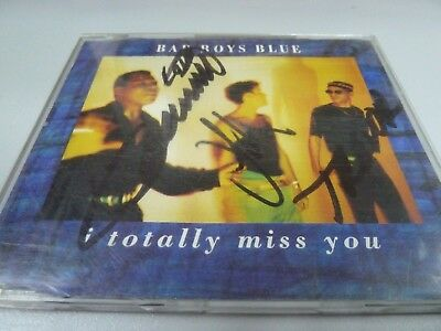 Bad Boys Blue ‎– I Totally Miss You - 4 REMIXES 1992 ORIGINAL SIGNATURE MAXI-CD!