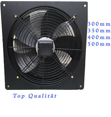 Axialventilator Absaugung Wandventilator 300 350 400 500 mm (Top A1 Ware)