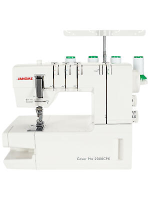 Janome CoverPro 2000 CPX Coverstitch machine