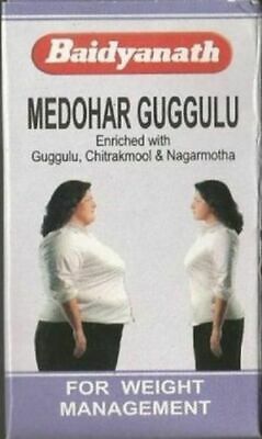 Baidyanath Medohar Guggulu Prevents Obesity And  Weight loss FREE SHIPPING