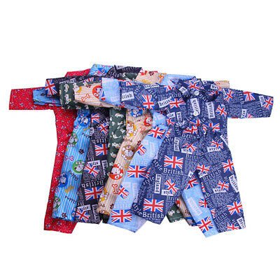 Mini Pajamas Nightwear Outfits Doll Clothes for America 18 INCH Boy Doll Gift