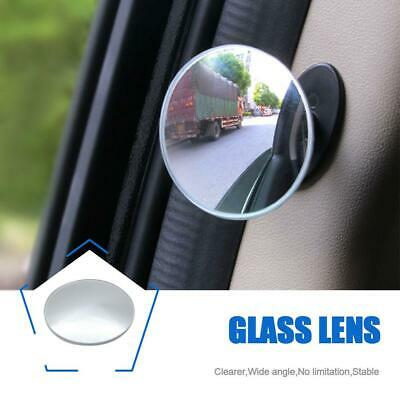 360° Mini Small Rearview Car Mirror Assitant Wide Angle Blind Spot Side Mirror
