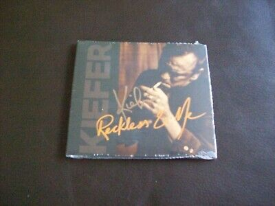 Kiefer Sutherland Reckless & Me CD - Signed Edition....Brand New & Sealed